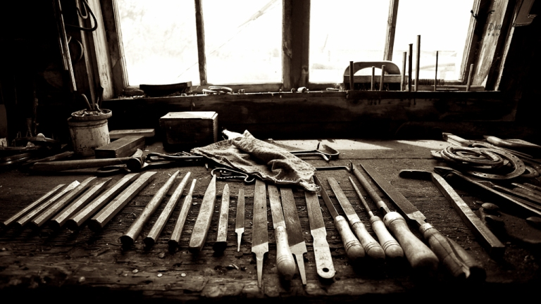 blacksmith workbench bar u ranch longview alberta black and white dusty rivers photography