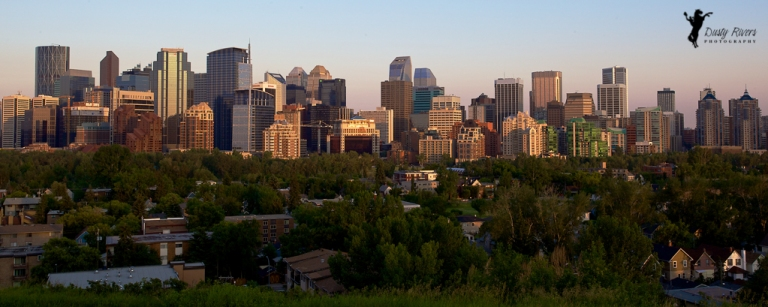 downtown wide angle calgary alberta dusty rivers photography