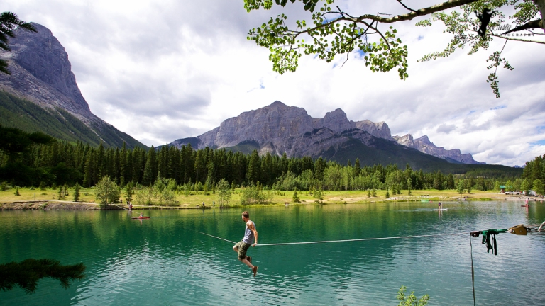 Rocky Mountain Lake Alberta dustyriversphotography