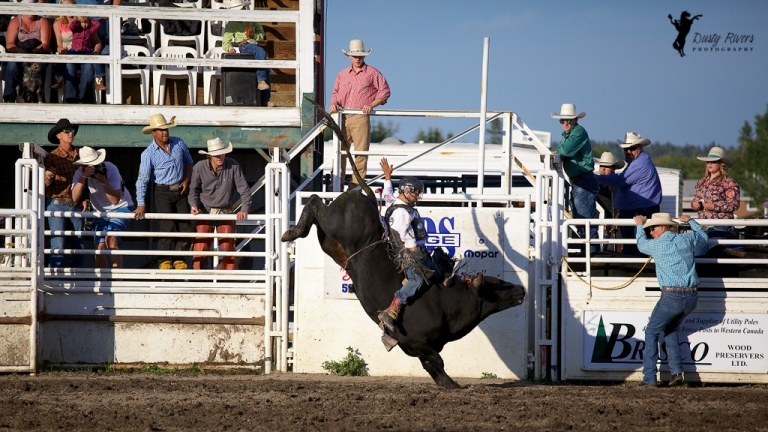 Sundre Rodeo grounds Bull Riding 2 Sundre Alberta dustyriversphotography