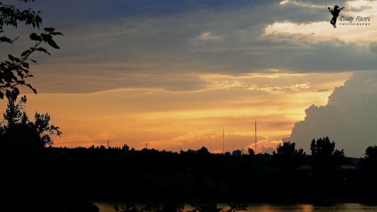 Sunset Calgary Alberta dustyriversphotography