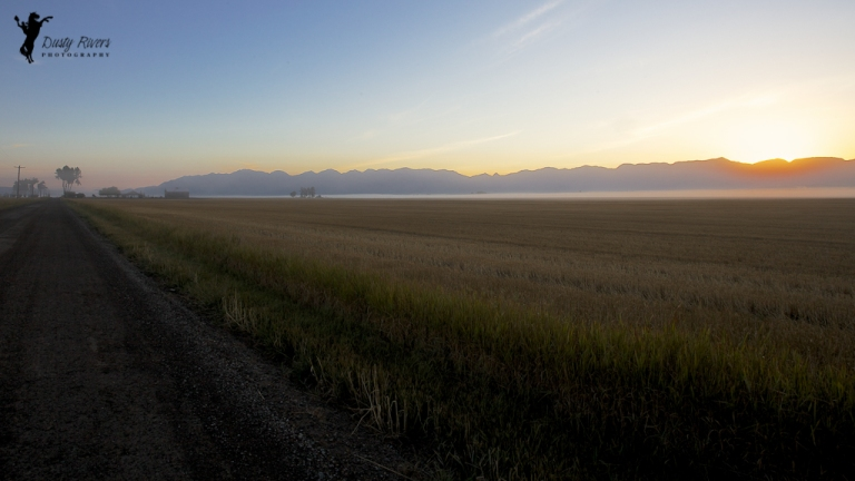 Sunrise on a farm 2 Kalispell Montana USA dustyriversphotography