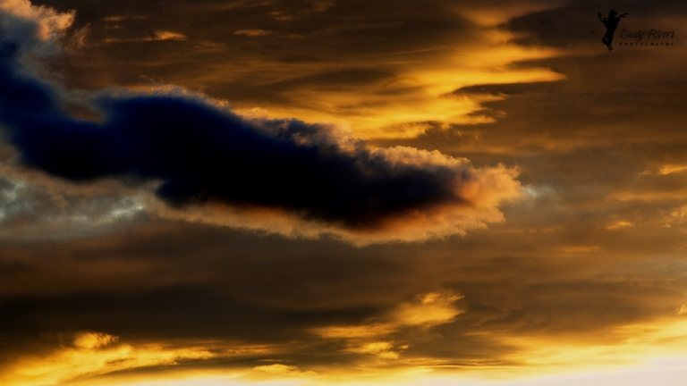 Sunset Crazy Clouds 2 Kalispell Montana USA dustyriversphotography