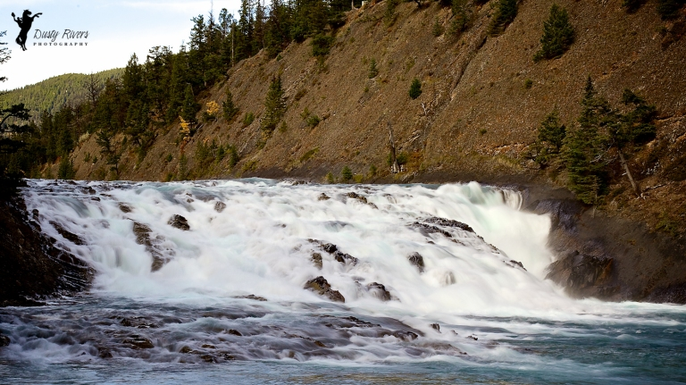 Bow Falls, Banff, Alberta, Canada, dustyriversphotography