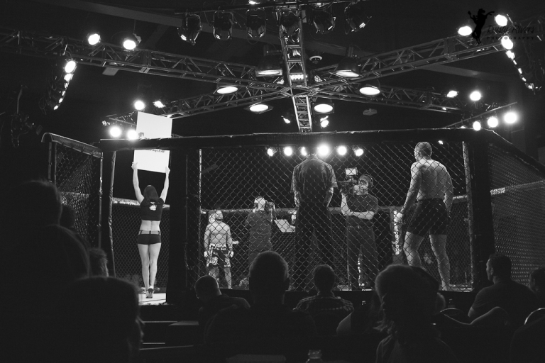 Hard Knocks Fighting 4, Century Casino, 2014, Black and white, Calgary, yyc, Alberta, Canada, dustyriversphotography