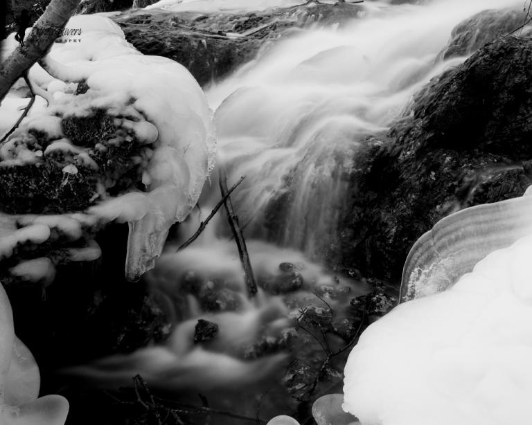 misty waterfall 2, Big Hill Springs Provincial Park, landscape, Rockyview County, Calgary, yyc, Alberta, Canada, dustyriversphotography