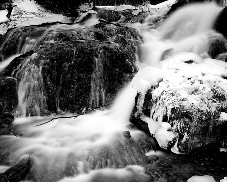 misty waterfall, Big Hill Springs Provincial Park, landscape, Rockyview County, Calgary, yyc, Alberta, Canada, dustyriversphotography