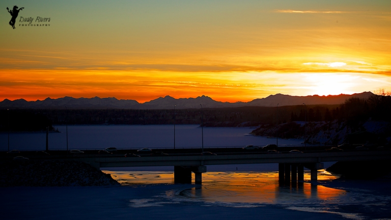 Sunset, Landscape, Glenmore Reservoir, gorgeous sunset, Calgary, yyc, Alberta, Canada, dustyriversphotography