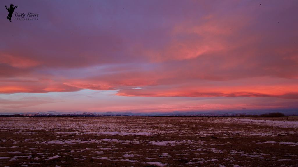 Winter sunrise on the praities 3, sunrise, winter, prairies, Highway 8, Calgary, yyc, Alberta, Canada, dustyriversphotography
