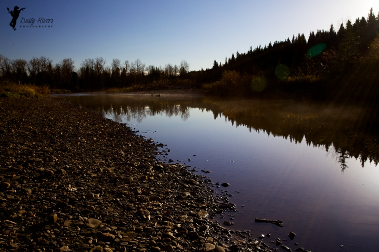 early morning creek, Southern Alberta, canon, Calgary, yyc, Alberta, Canada, dustyriversphotography