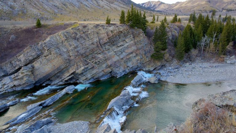 Oldman River Falls, HDR, Oldman River, Alberta, Canada, Water Falls, landscape, YYC, Dusty Rivers Photography, dustyriversphotography.com