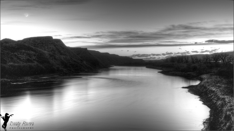 Red Deer River, HDR, Back and White, Landscape, Dorothy, Alberta, Dusty Rivers Photography, dustyriversphotography.com