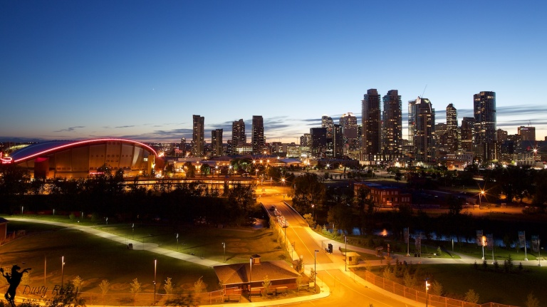 Scotchsman Hill, view from Scotchsman Hill, Calgary, Alberta, Canada, Dusty Rivers Photography, dustyriversphotography.com