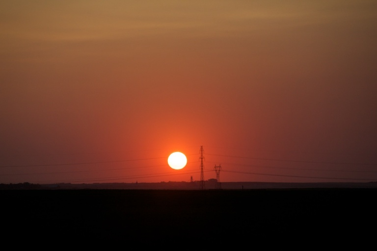Sunset, prairies, Drumheller, Kneehill County, Alberta, Canada, Dusty Rivers Photography, dustyriversphotography.com