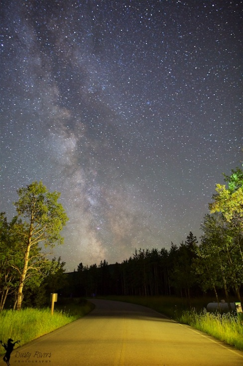 Sandy McNabb Campground, Milky Way, Star Photo, nighttime photography, Alberta, Canada, Dusty Rivers Photography, dustyriversphotography.com