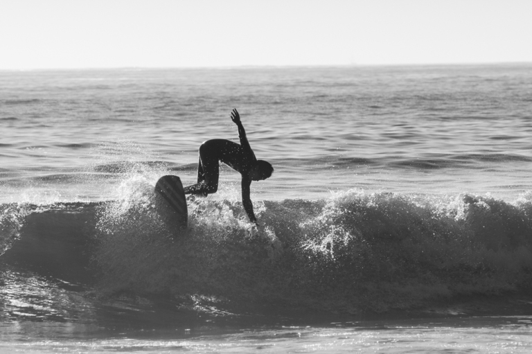 Surfing 3, Chesterman beach, Tofino beach, black and white, Tofino, BC, Dusty Rivers Photography, dustyriversphotography.com
