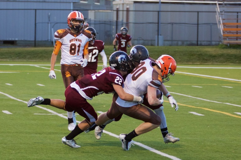 Calgary High School Senior Boys Football, Henry Wisewood vs St Francis 6, Shouldice Field, Calgary, Ab., YYC, Dusty Rivers Photography, dustyriversphotography.com
