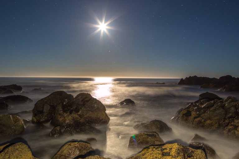 Big Beach, Ucluelet, night time, moonlit beach, long exposure, YYC, Dusty Rivers Photography, dustyriversphotography.com