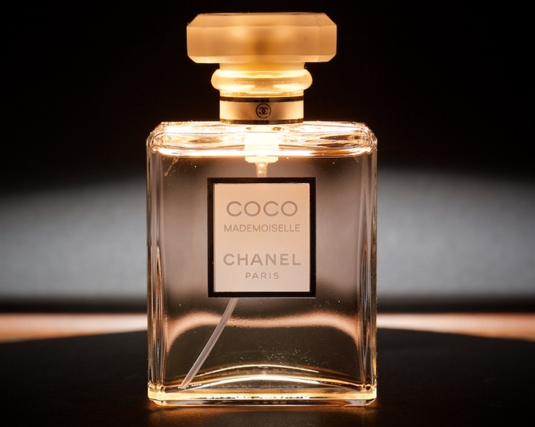COCO, Chanel, product shot, funky lighting, perfume, Calgary, YYC, Dusty Rivers Photography, dustyriversphotography.com