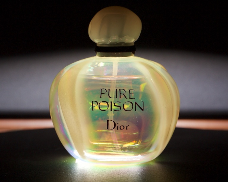 Pure Poison, Dior, product shot, funky lighting, perfume, Calgary, YYC, Dusty Rivers Photography, dustyriversphotography.com