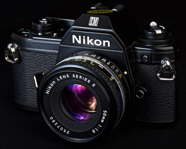 Nikon, EM, Film camera, antique camera, 50mm lens, Calgary, YYC, Dusty Rivers Photography, dustyriversphotography.com