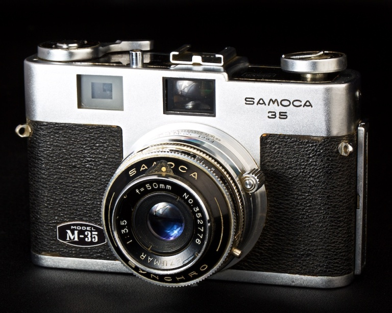 Samoca M-35, antique camera, 35mm camera, Calgary, YYC, Dusty Rivers Photography, dustyriversphotography.com
