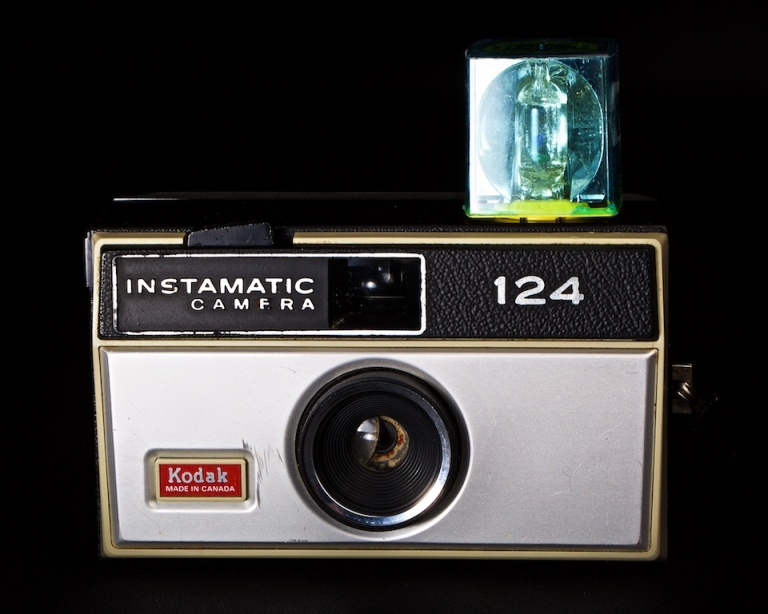 Kodak Instamatic 124, antique camera, point n shoot camera, Calgary, YYC, Dusty Rivers Photography, dustyriversphotography.com